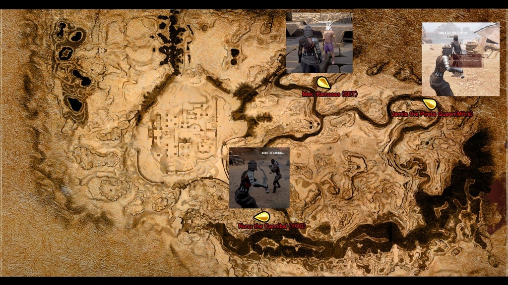 Locations Of The Religion NPCs Recovering Lost Religion Conan - World religion map reddit