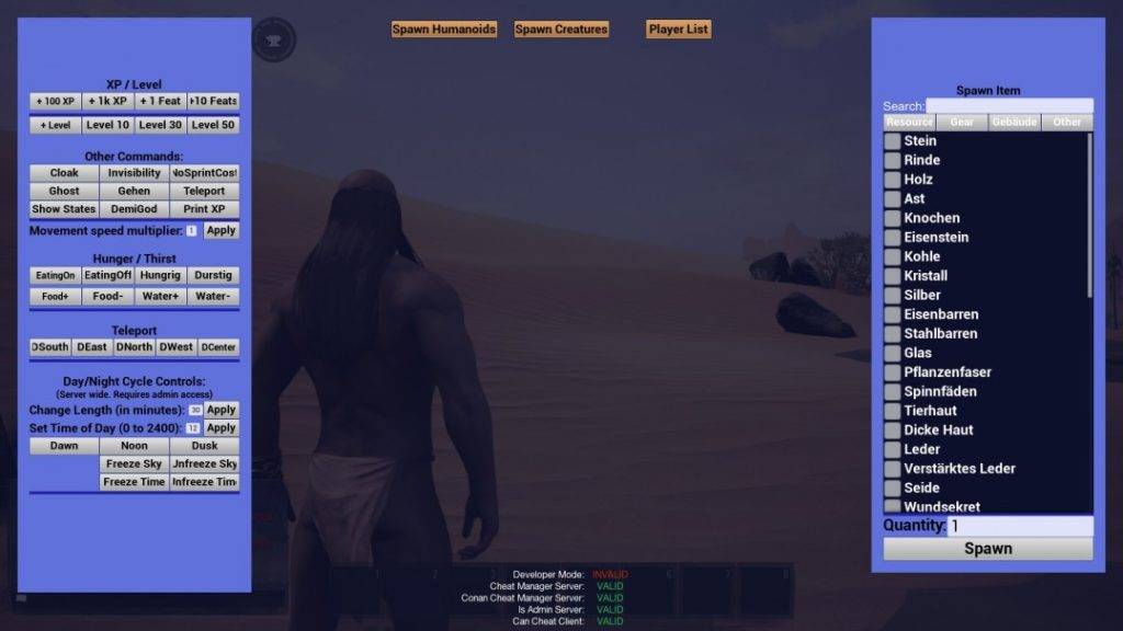 Cheats for Conan Exiles - Conan Exiles